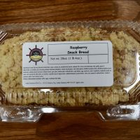 Raspbery snack bread